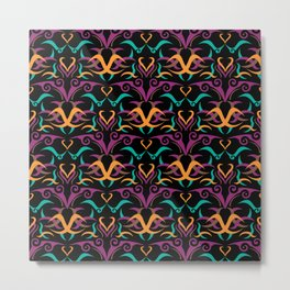 Ethnic Pattern 2 Metal Print