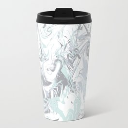 Marbleized - Mint Travel Mug