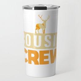 Cousin Crew Shirts Christmas Cousin Gift Travel Mug