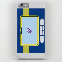 Soundwave Transformers Minimalist iPhone Case