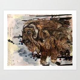 Musky Magic Art Print