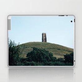 glastonbury tor Laptop & iPad Skin