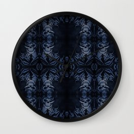 Death Driver Pattern (Large) Wall Clock