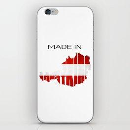 Made in Austria. Austrian gift. Vienna iPhone Skin