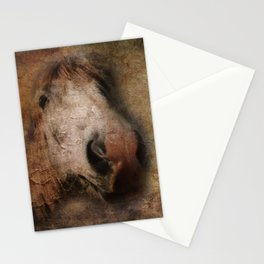 Vintage portrait of the horse Stationery Cards