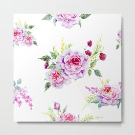 Spring Bouquet II Metal Print