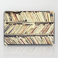 books iPad Cases featuring books by PureVintageLove