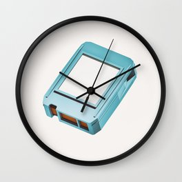 Lo-Fi goes 3D - 8 Track Wall Clock