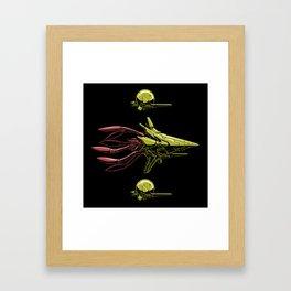 The Bioship Shinden Framed Art Print
