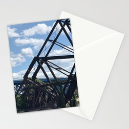 Cleveland Bridge Photography by Willowcatdesigns Stationery Cards