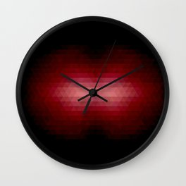 Sun Lips 2 Wall Clock