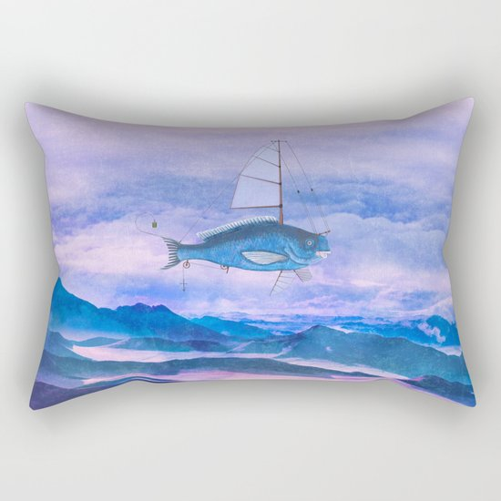 I want to fly II Rectangular Pillow