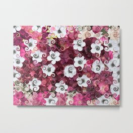 The Flower Dance Metal Print
