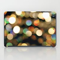 the lights iPad Cases featuring Lights by Janelle