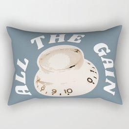 All the gain maximum distortion e guitar gift Rectangular Pillow