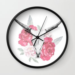 Animal Skull 08 Wall Clock