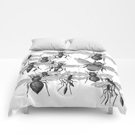 Bees and wasp Flying Comforters
