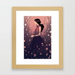 Gatherer Framed Art Print