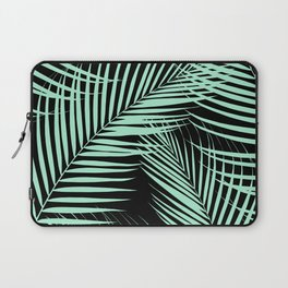 Palm Leaves - Mint Cali Vibes #1 #tropical #decor #art #society6 Laptop Sleeve