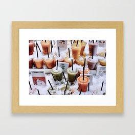 Refreshing - Barcelona Framed Art Print