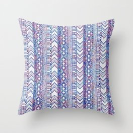 Column Me Any Day-Floral Throw Pillow