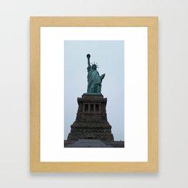 Lady Liberty Framed Art Print