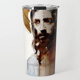Shalom Aleichem/Peace Be With You Travel Mug
