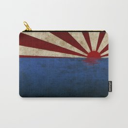Rising sun on sea Carry-All Pouch