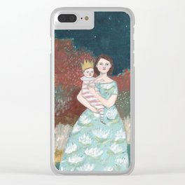 Josephine and Sadie Clear iPhone Case