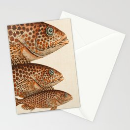 Fish Classic Designs 6 Stationery Cards