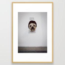 Free Kisses Framed Art Print
