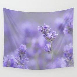 Lavenderfield - Lavender Summer Flower Flowers Floral Wall Tapestry