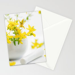 St. John's wort the strong helper from nature Stationery Cards