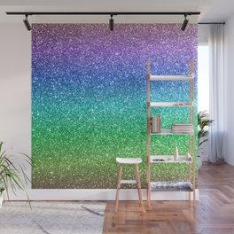 Magic Rainbow Sparkly Glitter Wall Mural