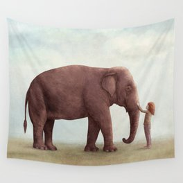 One Amazing Elephant Wall Tapestry