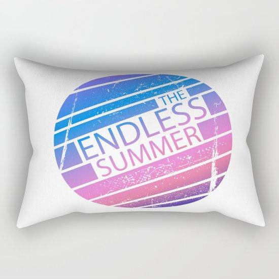 The Endless Summer Rectangular Pillow