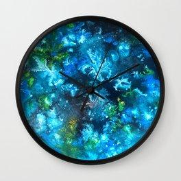 Blue Nudibranch Wall Clock