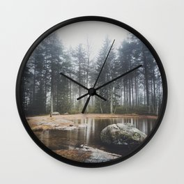 Moody mornings Wall Clock