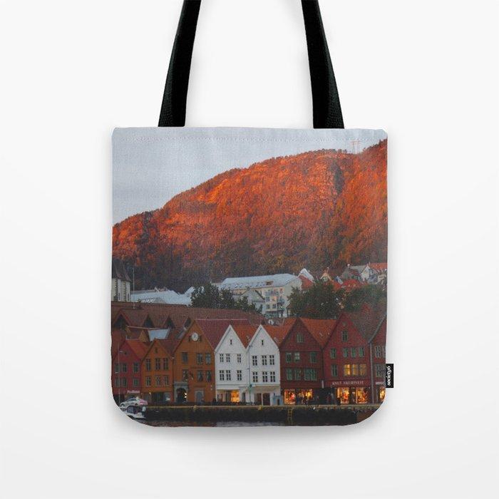 Bergen Landscape Tote Bag