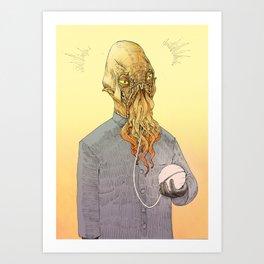 The ood Art Print