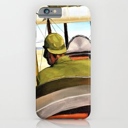 A British Pilot in a Be2c approaching Hit along the course of the River Euphrates - Sydney William C iPhone Case
