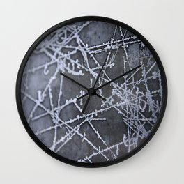 Texture #8 Ice Wall Clock