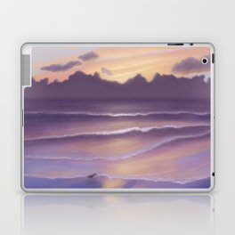 Violet Beach Laptop & iPad Skin