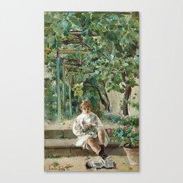 Emilio Sala Francés, Abandoned Doll Canvas Print