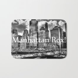 Manhattan Rox! Bath Mat