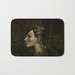 The Bride of Glass Blossoms Bath Mat