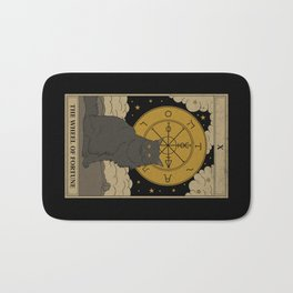 The Wheel of Fortune Bath Mat