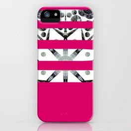 Dancing stripes 2 iPhone Case