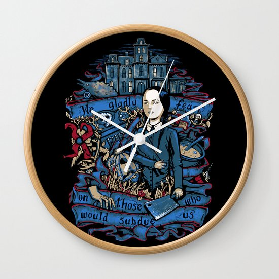 Wednesday Feast Wall Clock