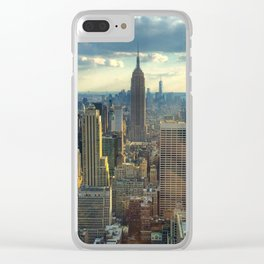 View Of New York City Clear iPhone Case